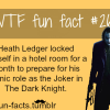 the joker facts