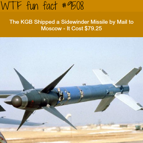The KGB Shipped a Missile by Mail - WTF fun fact