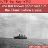 the last photo taken of the titanic wtf fun