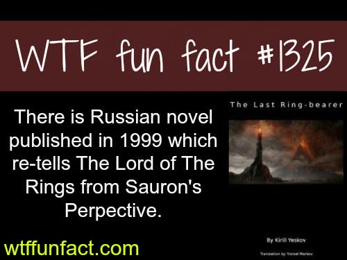 the last ringbearer - Russian novel _ (lord of the rings)