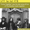 the last song the beatles made together wtf fun