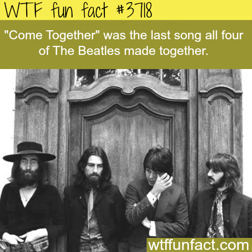The last song the Beatles made together - WTF fun facts