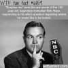 the last words of comedian bob hope wtf fun fact