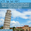 the leaning tower of pisa wtf fun fact
