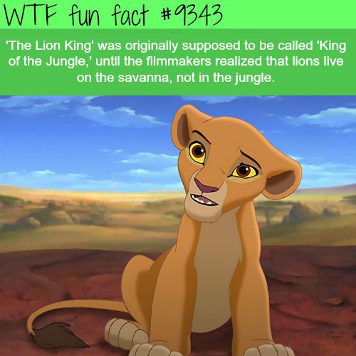 The Lion King - WTF fun facts