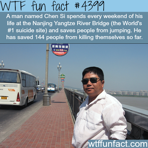 The man who spends every weekend saving lives -   WTF fun facts