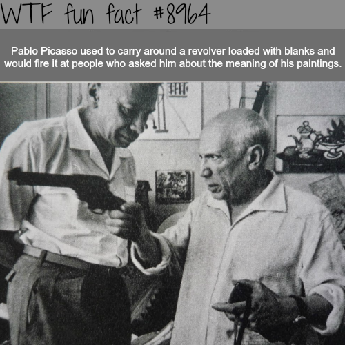 The meaning behind Picasso's paintings - WTF fun fact