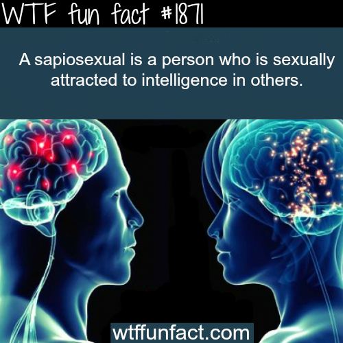 The meaning of sapiosexual -WTF fun facts