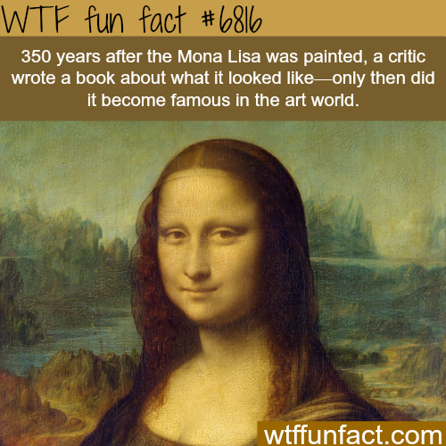 The Mona Lisa - WTF fun fact