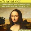 the mona lisa wtf fun facts