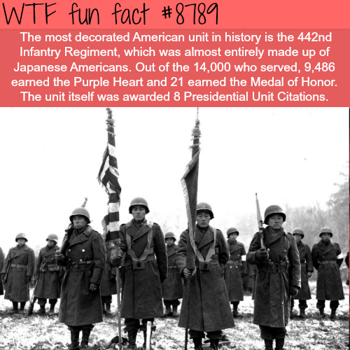 The Most Decorated American Unit in History - WTF fun facts