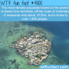 the most densely populated island in the world