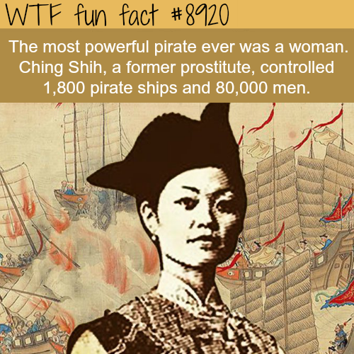 The most powerful pirate in history - WTF fun facts