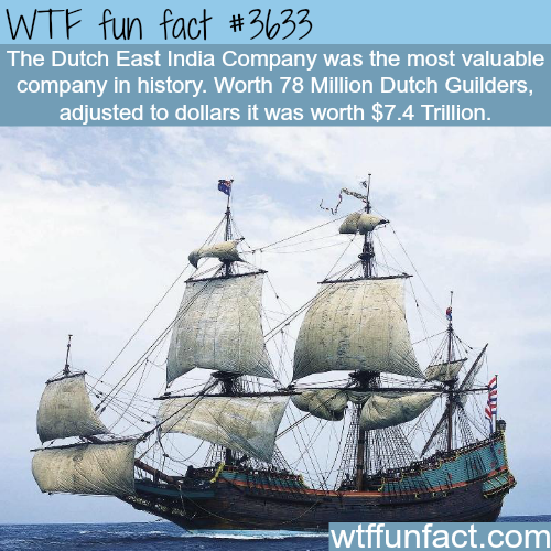The most valuable company in history -  WTF fun facts