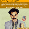 the movie borat is credited with increasing