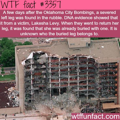 The Oklahoma city bombings - WTF fun facts