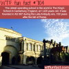 the oldest operating school in the world wtf fun