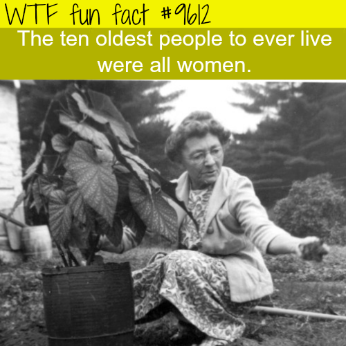 The oldest people ever lived - WTF fun fact