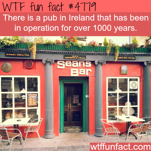 The oldest pub in Ireland - WTF fun facts
