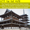 the oldest wooden building in the world wtf fun