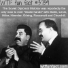the only man to shake hands with hitler stalin