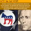 the origin of the democratic party symbol wtf