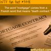 the origin of the world mortgage