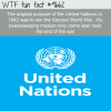 the original purpose of the united nations in