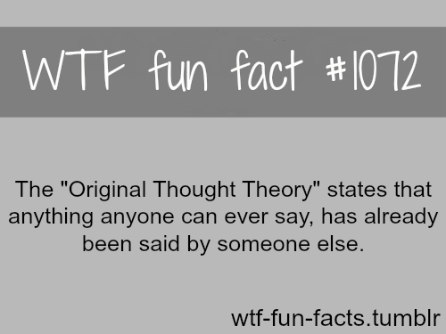 the original thought theory