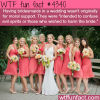 the origins of the bridesmaids wtf fun facts