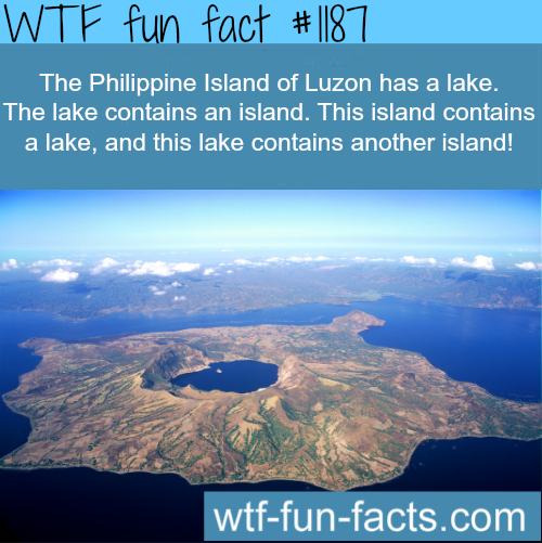 The Philippine Island of Luzon has a lake.