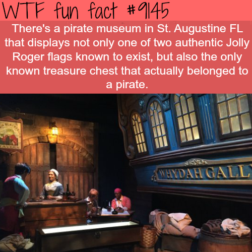 The Pirates Museum in St. Augustine - WTF Fun Facts