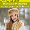 the population of russia wtf fun facts