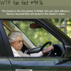 the queen doesnt need a license to drive wtf