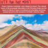 the rainbow mountains wtf fun facts