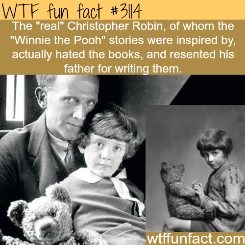 "The real Christopher Robin of ""Winnie the Pooh"" -  WTF fun facts"