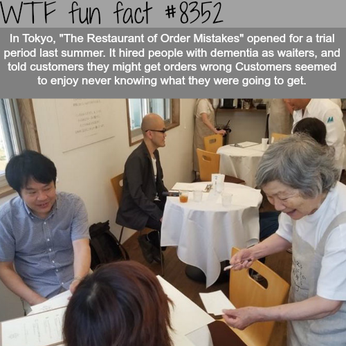 The Restaurant of Order Mistakes in Tokyo - WTF fun facts