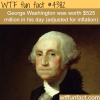 the richest american president wtf fun facts