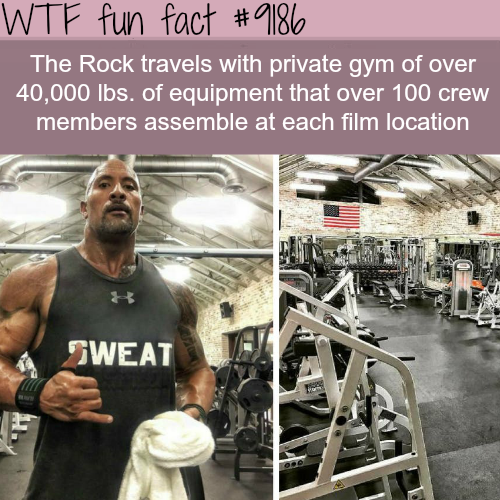 The Rock - WTF Fun Facts