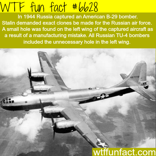 The Russian TU-4 bomber - WTF fun facts