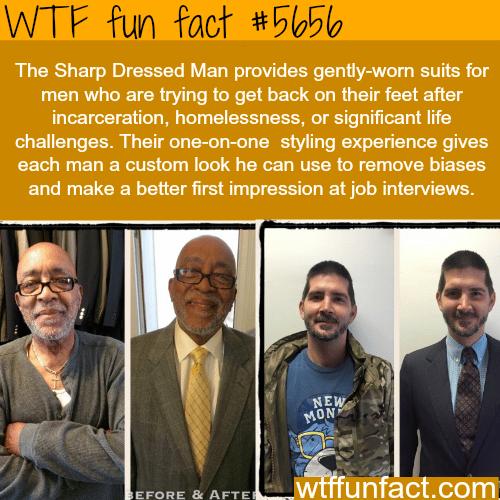 The Sharp Dressed Man - WTF fun fact