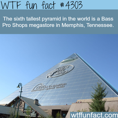 The sixth tallest pyramid in the world -  WTF fun facts