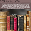 the smell of old books wtf fun facts