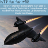 the sr71 blackbird wtf fun facts