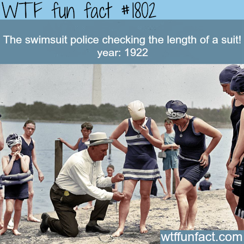The swimsuit police - WTF fun facts