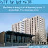 the tallest building in wyoming wtf fun fact