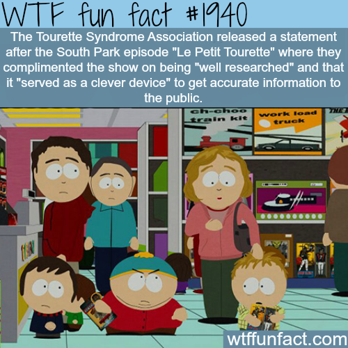The Tourette Syndrome Association - WTF fun facts