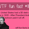 the u s national debt and president andrew jackson