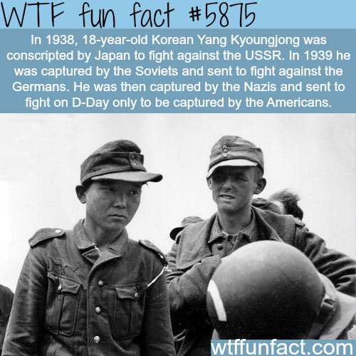 The unluckiest soldier in history - WTF fun facts