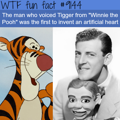 "The Voice Actor for Tigger from ""Winnie the Pooh""- WTF Fun Facts"